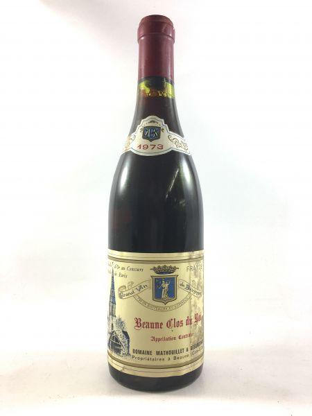 Domaine Mathouillet & Besancenot - Beaune Clos du Roi 1973