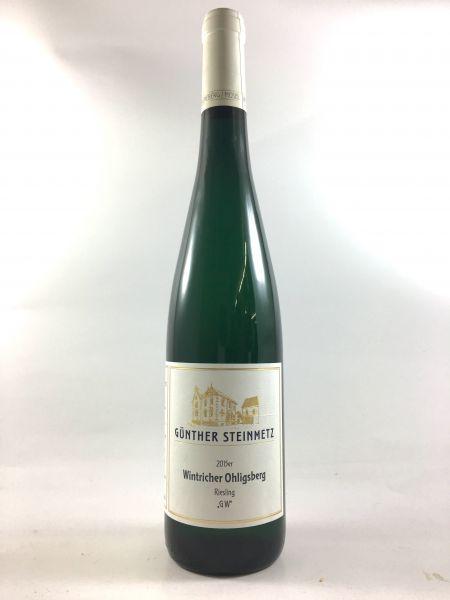 Günther Steinmetz - Wintricher Ohligsberg GW trocken 2015