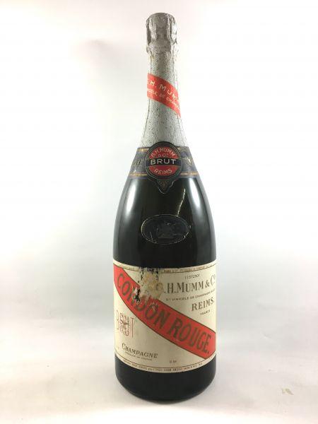 Mumm Champagner Cordon Rouge - ca. 70er Jahre