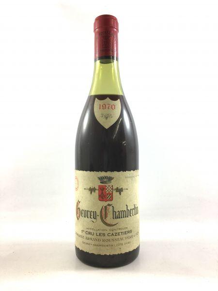 Armand Rousseau - Gevrey-Chambertin 1er Cru Les Cazetieres 1970