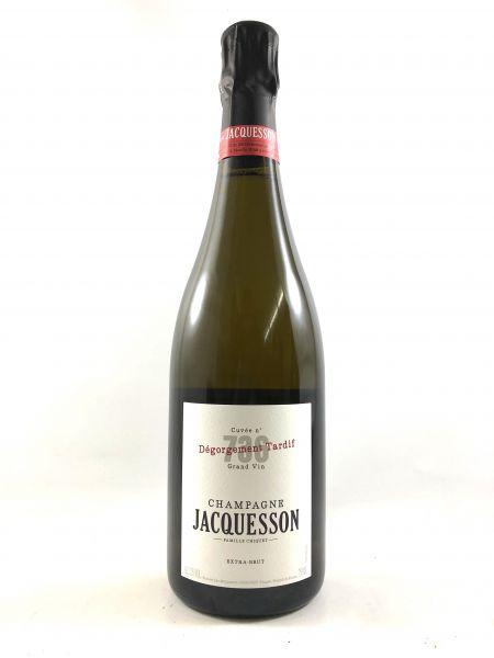 Jacquesson Extra Brut 736 DT - Degorgement Tardif